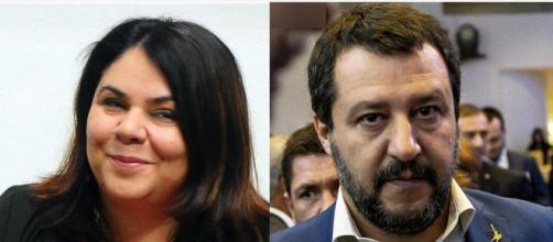 Michela Murgia critica Matteo Salvini durante Otto e mezzo.