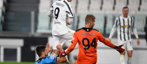 Morata appena entrato trafigge Provedel e rianima la Juventus.
