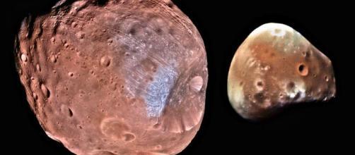 Phobos e Deimos, resti di una grande Luna.