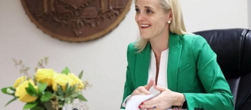 State treasurer Sarah Godlewski, Rep. Ron Kind mulling US Senate (Image source: ABCNews/YouTube)