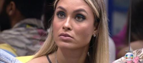 'BBB21': Sarah está no paredão (Reprodução/TV Globo)