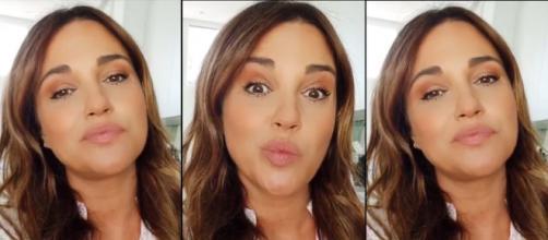 """Los graciosos gestos de Paula Echevarría mostrando el rostro, como ella dice, """"hinchado"""" por su embarazo. (Imágenes: Instagram @pau_eche)"""
