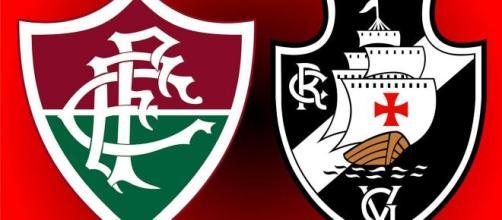 O confronto entre Fluminense e Vasco será em Volta Redonda (Arte/Eduardo Gouvea)