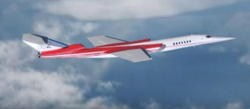 Aerion AS2 supersonic business jet (Image source: Elite Ace Aviation/YouTube)