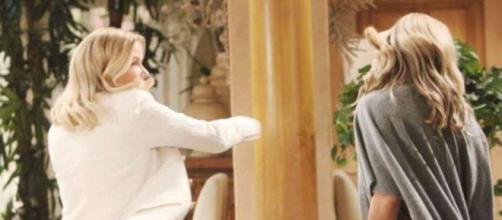 Beautiful: Brooke aggredisce Shauna Fulton.
