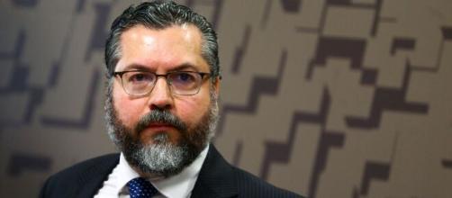 Ernesto Araújo deixou ministério (Marcelo Camargo/Agência Brasil)