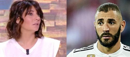 Estelle Denis frustrée par les critiques autour de Karim Benzema. (montage)