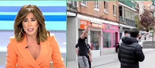 """La presentadora de AR ha llamado """"jarabe democrático"""" al acaso que sufrió el líder de Podemos. (Twitter @elprogramadear)"""