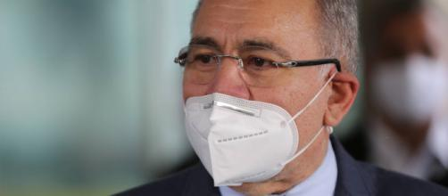 Ministro da Saúde Marcelo Queiroga enfatizou necessidade da vacinação em massa (Agência Brasil)