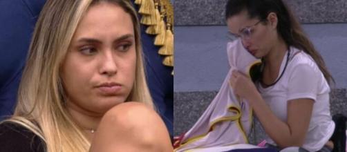Sarah deixa o 'BBB21' com mais de 75% dos votos do público (Fotomontagem/Reprodução/Rede Globo)