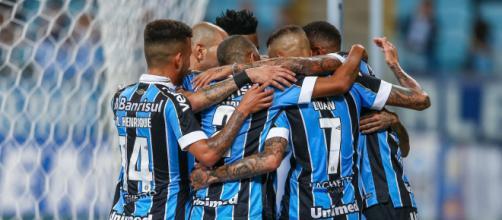 Thaciano, Jean Pyerre e David Braz movimentaram o mercado (Lucas Uebel/Grêmio)