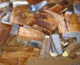 El dinero se deterioró por la oxidación. (Facebook / Lily Noorly Mohd Noor).