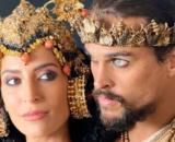 Enlila e Ibbi-Sim em 'Gênesis' (Reprodução/Record TV)