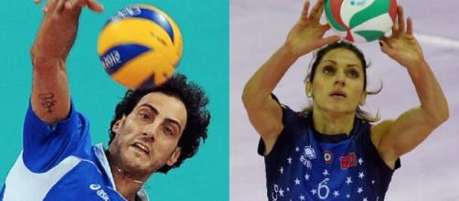 Alessandro Fei e Carmen Turlea, top scorer del campionato italiano di volley nell'era del rally point.