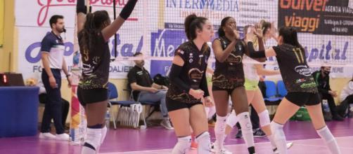 Cutrofiano-Sassuolo 1-3, nel campionato di A2 femminile.