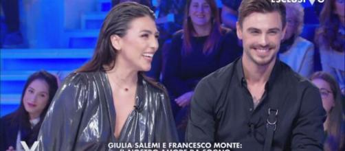 Giulia Salemi e Francesco Monte: gli attacchi dei fan
