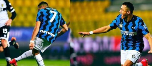 Parma-Inter 1-2: Inter in fuga.