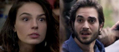 Ritinha e Ruy em 'A Força do Querer' (Fotomontagem/Reprodução/TV Globo)