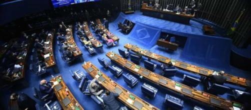 Senado aprova PEC Emergencial com teto de R$ 44 bilhões (Reprodução/Agência Senado)