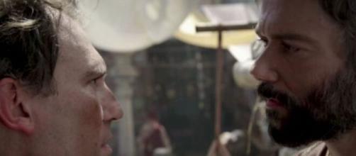 Sharur e Terá em 'Gênesis' (Reprodução/Record TV)
