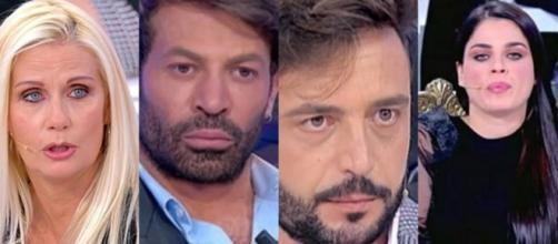 UeD registrazione 3 marzo: Sabina si spoglia e per Gianni è volgare, Armando contro Curcio.