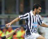Christian Brocchi e Tomas Guzman in un Milan-Juventus.