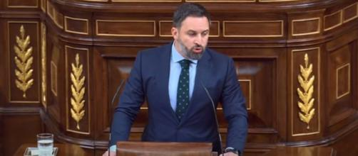 Abascal ha referido que en VOX, las decisiones las asume el presidente del partido (Youtube, Vox España)