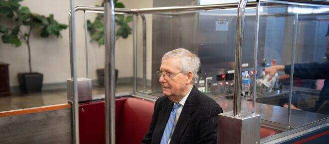 Minority leader Mitch McConnell planning 'exit strategy' from Senate