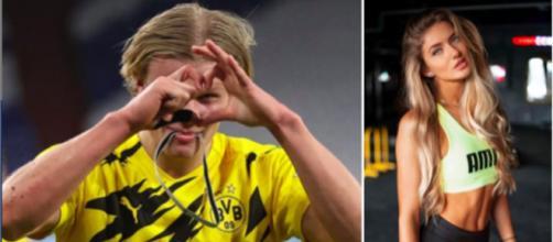 Alica la coach du Borussia Dortmund qui enflamme les internautes - Photo montage et captures d'écran