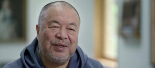 Chinese dissident Ai Weiwei said he is working on a monument to Mikhail Gorbachev (Image source: vpro documentary/YouTube)