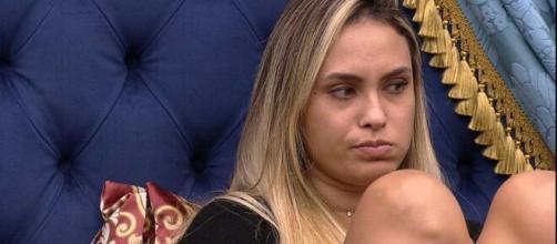 Sarah diz que gosta de Bolsonaro no 'BBB21'. (Reprodução/TV Globo)