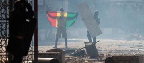 Soulèvement populaire au Sénégal @crédit photo : Google images