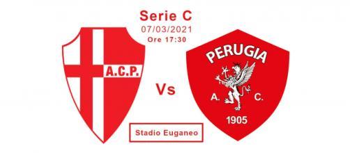 Padova-Perugia 29^ giornata Serie C.