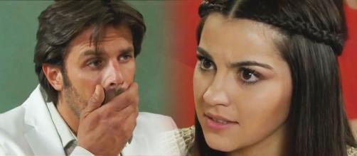 Alonso passa dos limites com Maria (Fotomontagem/Reprodução/Televisa)