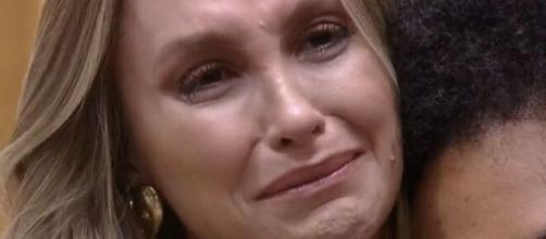 Carla chora no 'BBB21' (Reprodução/TV Globo)