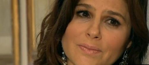 """Cristina, em """"Amores Verdadeiros"""" (Reprodução/SBT)"""
