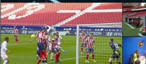 L'Atlético attaque le Real Madrid avec un message très clair et direct. Capture d'écran