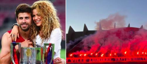 Les supporters du PSG se payent Piqué et Shakira - Photo capture d'écran photo instagram et Twitter
