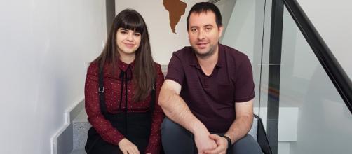 Lucía Martínez y Marcos Gimeno, CEOs de Remot Technologies