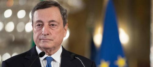 Mario Draghi, presidente del Consiglio dei Ministri