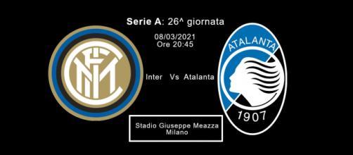 Serie A, Inter-Atalanta, stadio San Siro ore 20:45.