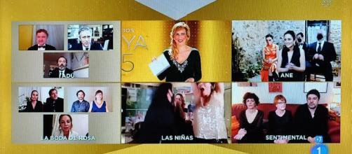 Un momento de la gala de los Goya 2021 donde 'Las niñas' fue premiada. (Flickr)