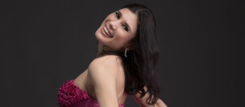 """Annalisa Stroppa, mezzosoprano di Brescia, ha aperto lattazione lirica al Teatro Real di Madrid con la """"Norma"""" fino al 19 marzo (ph Silvia Lelli)"""