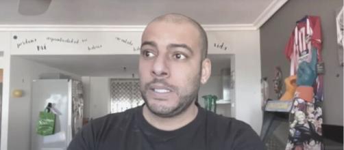 El youtuber Borja Escalona fue el foco de atención en los medios en estos días (captura de pantalla de su canal)