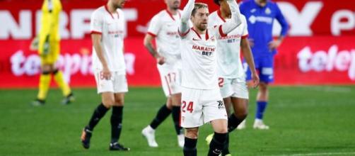 Il Papu Gomez vuole guidare il Siviglia alla vittoria in Europa League.
