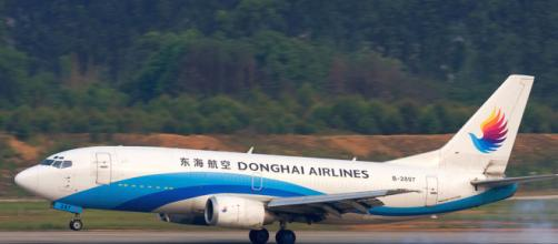 Imagen del avión de la aerolínea que manejaba el piloto suspendido (Wikicommons)