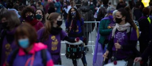 La concentración se dividió en 8 tramos para evitar aglomeraciones (Twiiter @RadioUnionTfe )