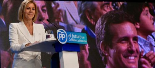 Maria Dolores de Cospedal ha referido que Luis Bárcenas tiene mucha 'animadversión' en su contra (Twitter @mdcospedal)