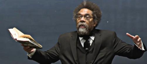 Professor Cornel West is leaving the Harvard faculty for a second time (Image source: Dartmouth/YouTube)