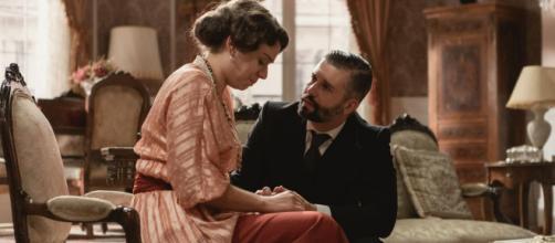 Una vita, anticipazioni spagnole: Genoveva tradisce Felipe, poi scopre di essere incinta.